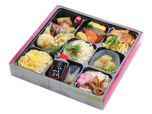 これからの季節にぴったり♪半田手延べ素麺や徳島県産うなぎのお弁当